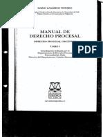 Manual de Derecho Procesal