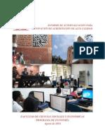 Informe de Autoevaluación - Programa de Economía 2014