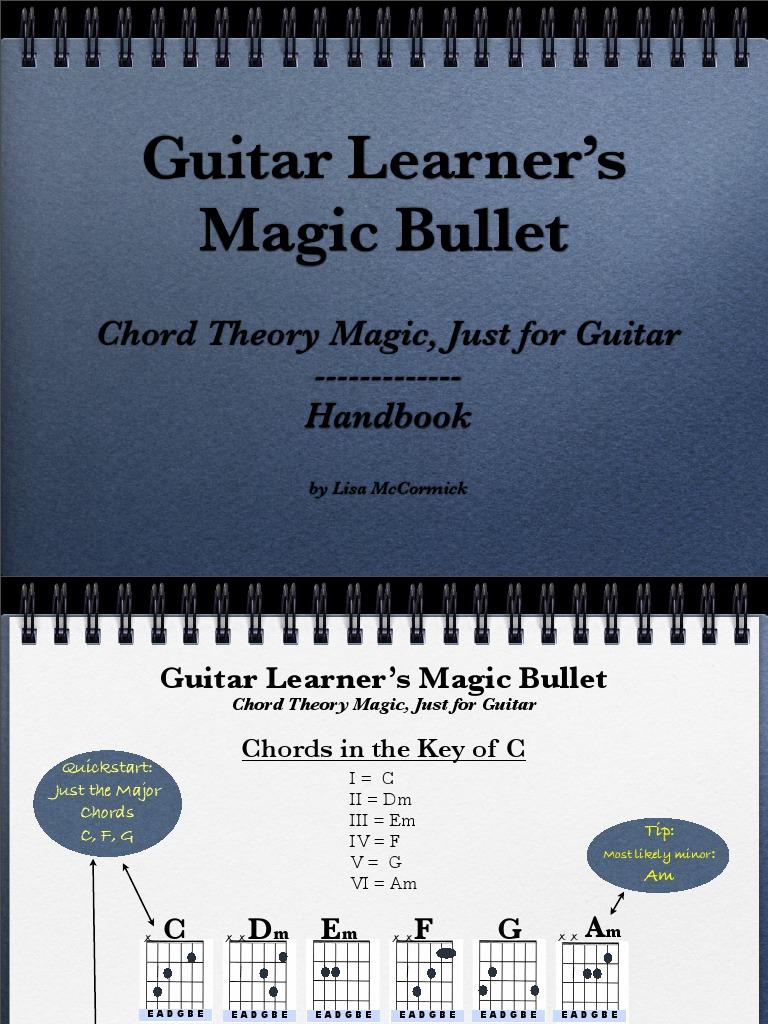 Chord theory magic handbook hexwebz Images