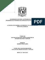 La Novela de Guerrilla en Mexico y El Poder de Los Espacios Legibles-libre