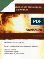 Tema 1 Introduccion a La Tecnologia de La Soldadura