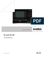 B-web9500 Technical Manual 01 2013 en Us