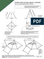 Desarrollo Piramide Cono