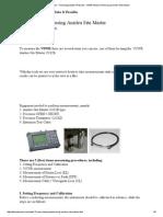VSWR Measurement Using Anritsu Site Master