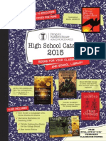 Random House 2015 High School Catalog