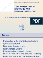L5 Interaction of Radiation With Matter