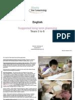 English Primary Planning