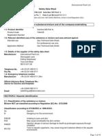 Hoja de Seguridad Interline 925 Componente A