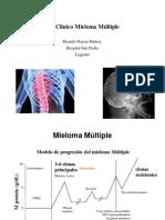 08 Caso Clinico Mieloma Multiple Con Citogenetica de Mal Pronostico