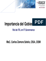 Importancia Del It Governance
