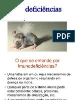 Imunodeficiencia Primaria e Secundaria