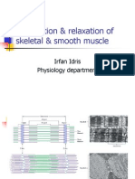 Contraction Skeleta & Smooth Muscle