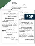 Ativ Complementar Prof Orlando Portug Valdemar Sandes Eja 2014 8ª Série