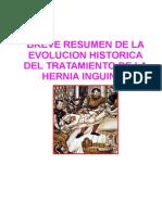 Breve Resumen Historico Del Tratamiento de La Hernia Inguinal2
