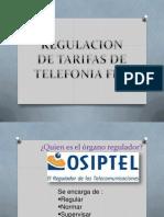 Regulacion de Telefonia Fija en El Peru (Expo)