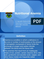 (10) Nutritional Anemia