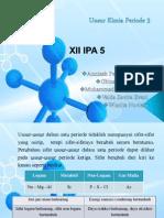 Unsur Kimia Periode 3