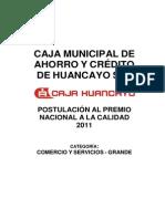 Informe Caja Huancayo