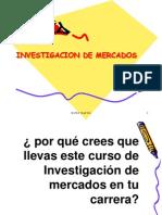 Sesion 1 Introduccion a La Investigacion de Mercados