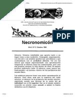Necronomicón, Año 2 Número 2. Octubre 1994