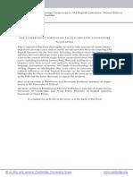 The Cambridge Companion to OE Literature