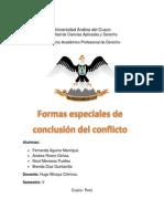 Firme Formas Especiales de Conclusion Del Proceso