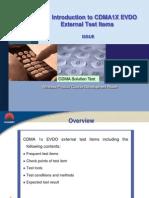 5.Introduction to CDMA1X EV-DO External Test Items