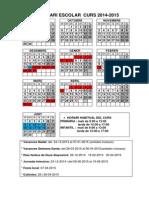calendari 2014-2015