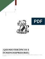 Quimioterapicos e Inmunosupresores