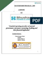Bhushan Power& Steel Ltd