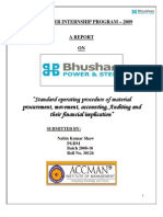 Bhushan Power& Steel Ltd