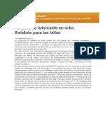 Análisis de Lubricante en Sitio-Antidoto Para Las Fallas