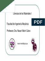 Ciencias de Los Materiales I 12sept2014