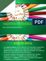 Investigacion Base de Datos
