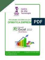 3 MS Excel 2010 - Básico