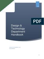 D&T Department Handbook 2014 05112014