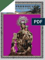 """Boletín """"Mi Parroquia Santa María la Mayor"""" Nº 61"""