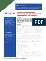 HIETexas Legal Framework