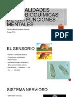 Generalidades Neurobioquímicas de Las Funciones Mentales