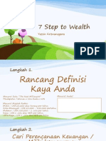 7 Step to Wealth