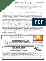 Newsletter, November, 2014 (1)