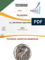 Semana 01 - A- Filosofía - Aspectos Generales