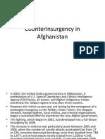 Counterinsurgency in Afghanistan (NEW)