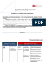 Tabela-Avaliacao Externa Modelo Auto-Avaliacao