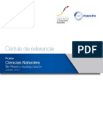 02. Cedula Referencia -Smr2014 - Ciencias Naturales