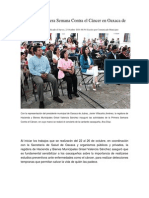 23-10-14 nss Inauguran Primera Semana Contra el Cáncer en Oaxaca de Juárez.docx