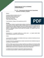 Practica 1 en Equipo Determinacion Experimental de Capacidades Calorificas (1)