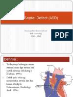 Atrial Septal Defect (ASD)