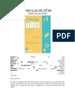 Test de Fábulas de Düss