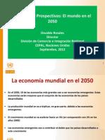 PAISES EMERGENTES  2050